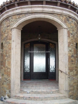 Visionmakers Steel Door with Sidelights 73