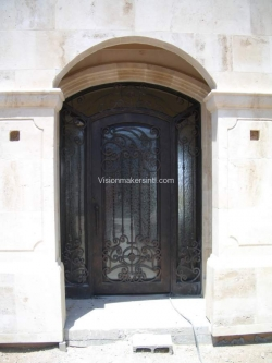 Visionmakers Steel Door with Sidelights 72