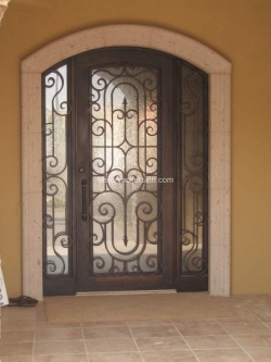 Visionmakers Steel Door with Sidelights 71