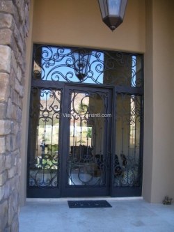 Visionmakers Steel Door with Sidelights 70
