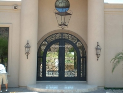 Visionmakers Steel Door with Sidelights 69