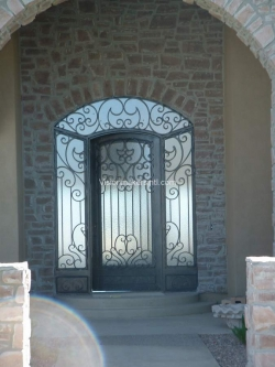 Visionmakers Steel Door with Sidelights 68