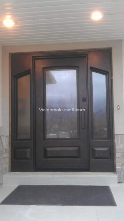 Visionmakers Steel Door with Sidelights 37