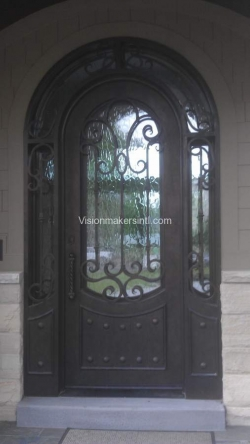 Visionmakers Steel Door with Sidelights 36