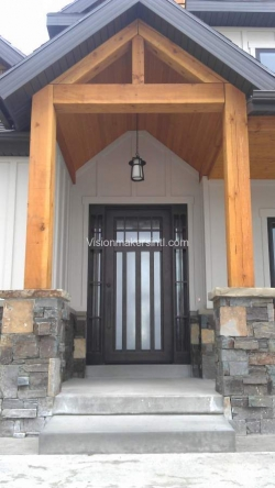 Visionmakers Steel Door with Sidelights 35