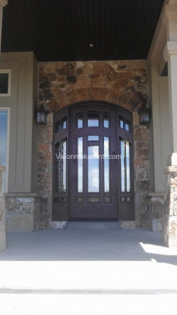 Visionmakers Steel Door with Sidelights 33