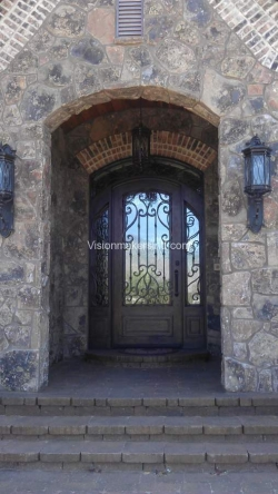 Visionmakers Steel Door with Sidelights  32