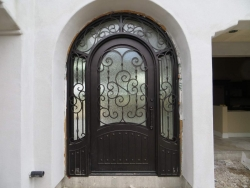 Visionmakers Steel Door with Sidelights 30