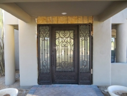 Visionmakers Steel Door with Sidelights 29