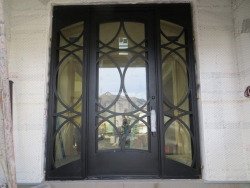 Visionmakers Steel Door with Sidelights 27