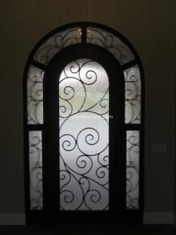 Visionmakers Steel Door with Sidelights 26