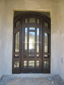 Visionmakers Steel Door with Sidelights 25