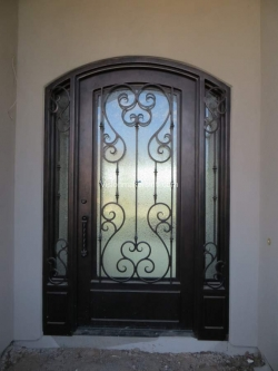Visionmakers Steel Door with Sidelights 24