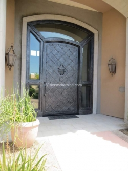 Visionmakers Steel Door with Sidelights 23