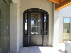 Visionmakers Steel Door with Sidelights 22