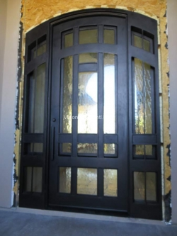 Visionmakers Steel Door with Sidelights 21