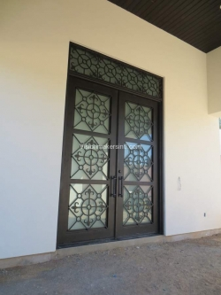 Visionmakers Steel Door with Sidelights 19