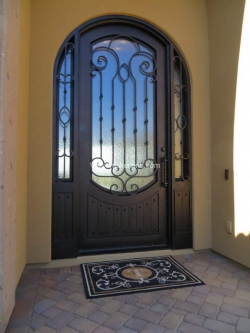 Visionmakers Steel Door with Sidelights 16