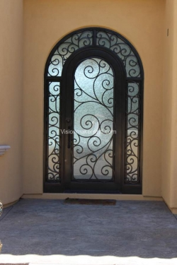 Visionmakers Steel Door with Sidelights 15