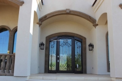 Visionmakers Steel Door with Sidelights 14