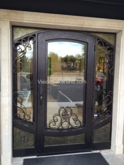 Visionmakers Steel Door with Sidelights 13