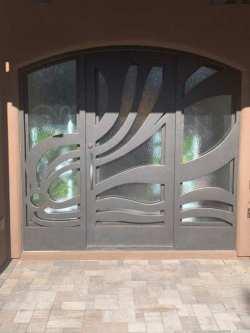 Visionmakers Steel Door with Sidelights 154