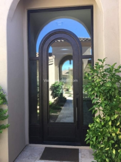 Visionmakers Steel Door with Sidelights 10