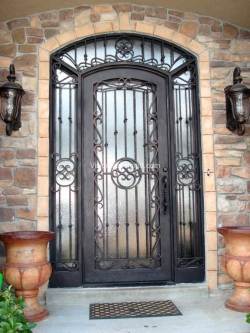 Visionmakers Steel Door with Sidelights 8