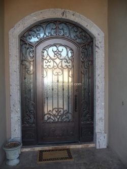 Visionmakers Steel Door with Sidelights 7
