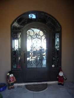 Visionmakers Steel Door with Sidelights 6