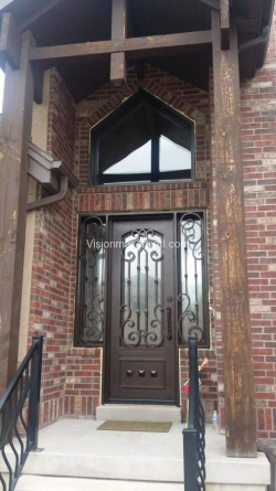 Visionmakers Steel Door with Sidelights 4