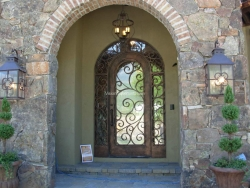 Visionmakers Steel Door with Sidelights 85