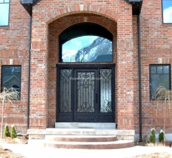 Visionmakers Steel Door with Sidelights 78