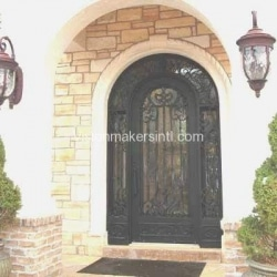Visionmakers Steel Door with Sidelights 66