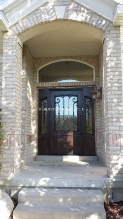 Visionmakers Steel Door with Sidelights 38