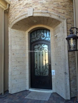 Visionmakers Steel Door with Sidelights 142