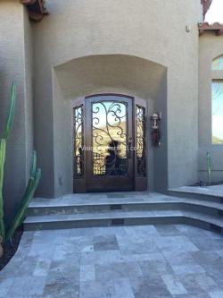 Visionmakers Steel Door with Sidelights 136