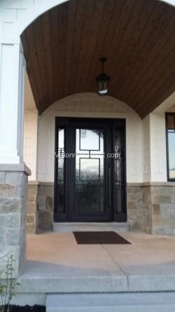 Visionmakers Steel Door with Sidelights 100