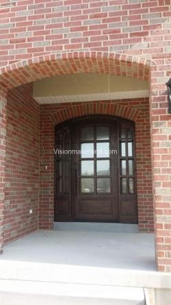 Visionmakers Steel Door with Sidelights 99