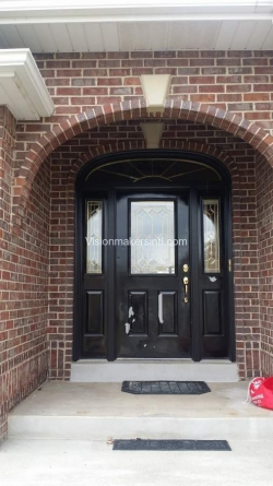 Visionmakers Steel Door with Sidelights 135