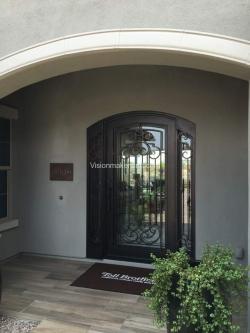 Visionmakers Steel Door with Sidelights 130