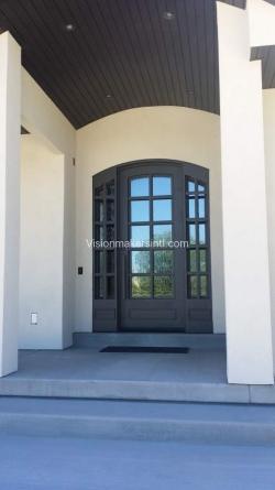 Visionmakers Steel Door with Sidelights 129