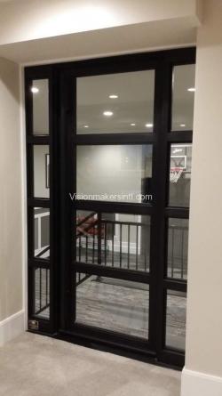 Visionmakers Steel Door with Sidelights 126