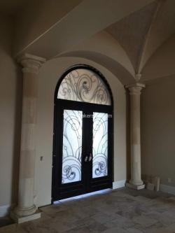 Visionmakers Steel Door with Sidelights 125