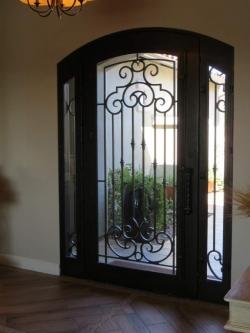 Visionmakers Steel Door with Sidelights 123