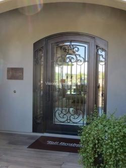 Visionmakers Steel Door with Sidelights 122