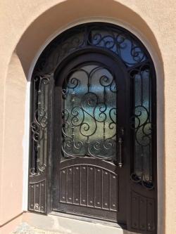 Visionmakers Steel Door with Sidelights 120