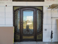 Visionmakers Steel Door with Sidelights 119