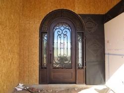 Visionmakers Steel Door with Sidelights 117
