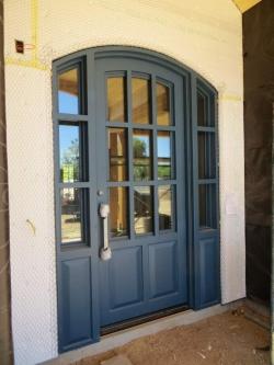 Visionmakers Steel Door with Sidelights 97